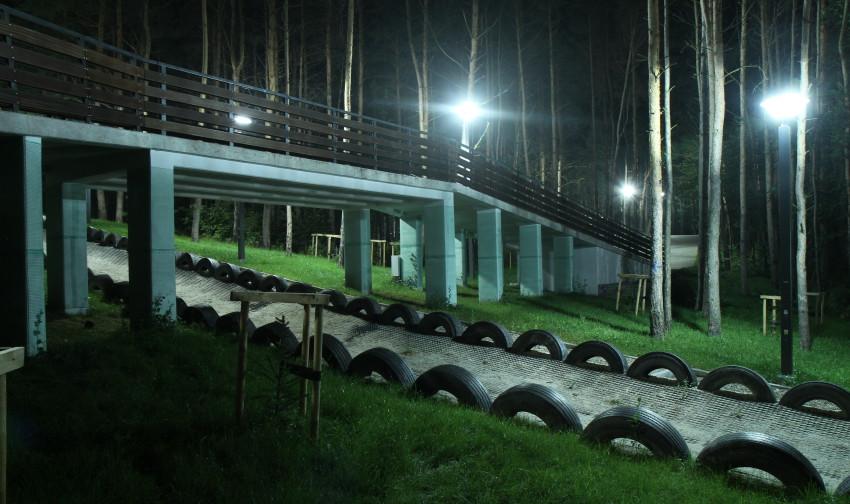 """Park Leśny """"Góra Cyranowska"""" w Mielcu"""